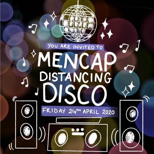 OXFORD MENCAP'S DISTANCING DISCO!!!! 🌟