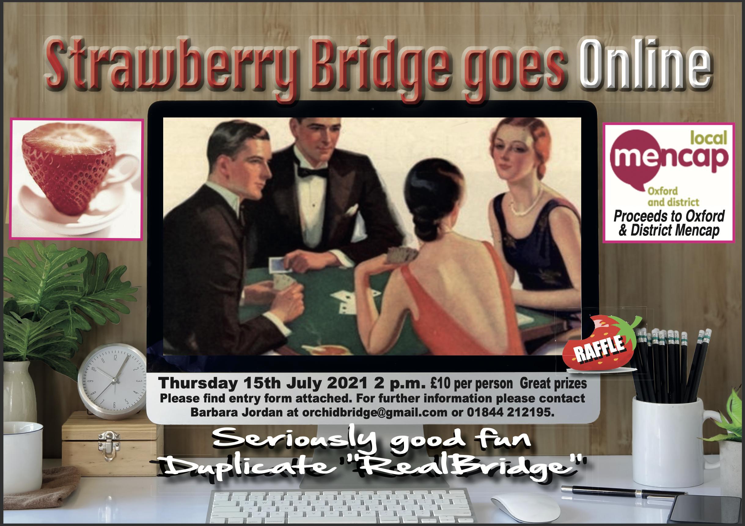 Strawberry Bridge goes Online